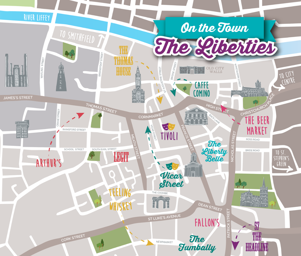 Restaurants and Bars in The Liberties Dublin