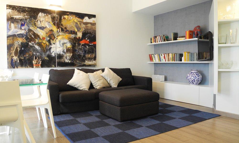Letto Blu Colore Parete : Camera da letto pareti blu awesome beautiful parete camera da