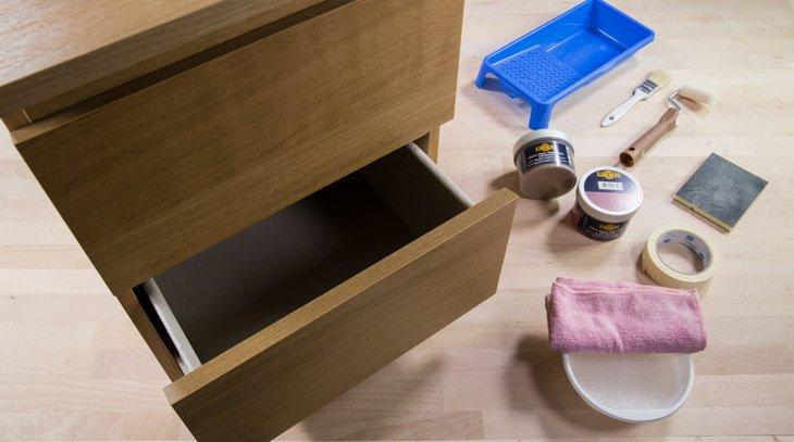 C mo pintar un mueble de melamina handfie for Como pintar un mueble de melamina