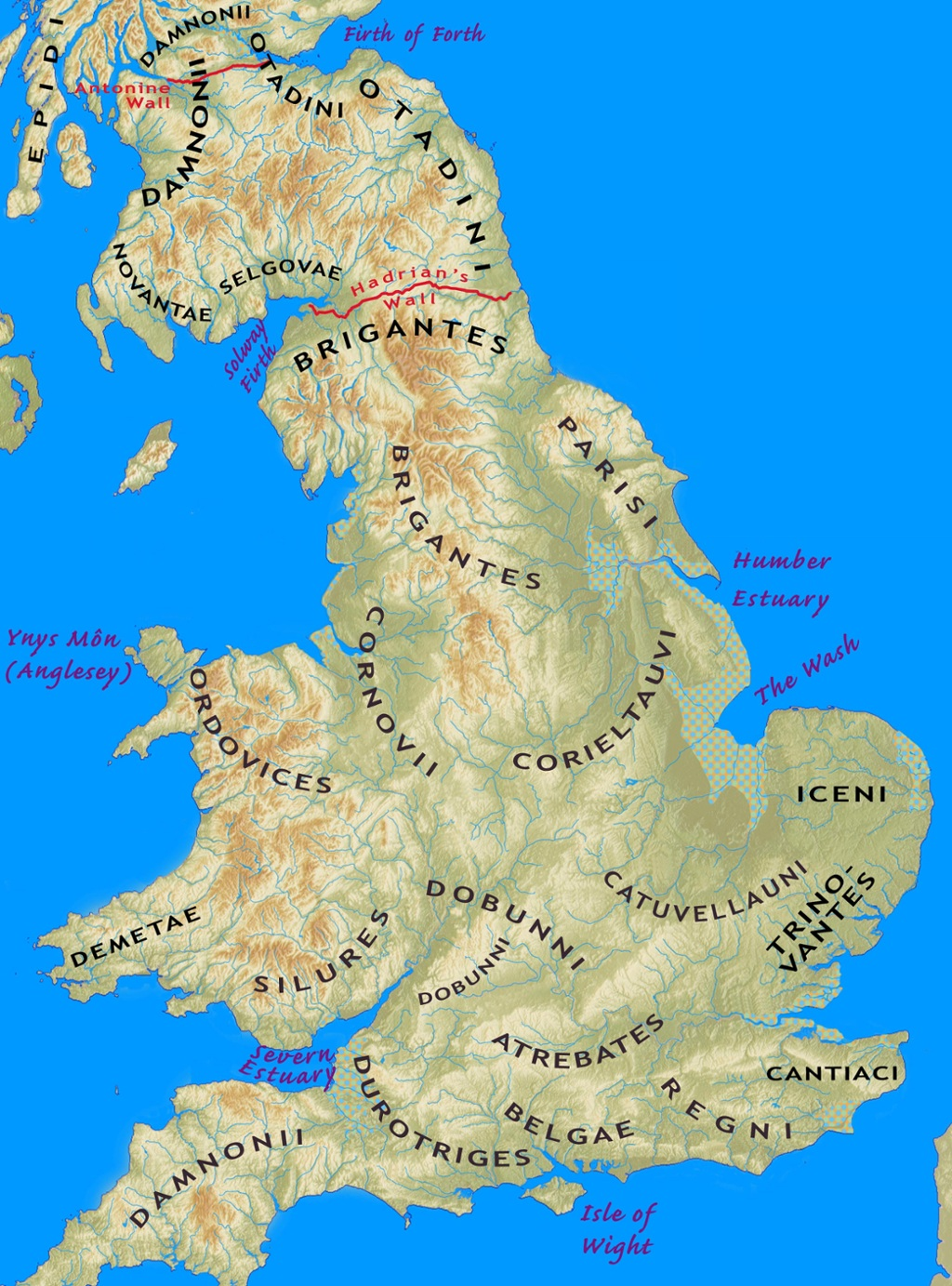 Iron Age Tribes Of Southern Britain Interactive Map