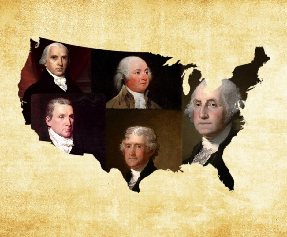 new republic  the first five presidents