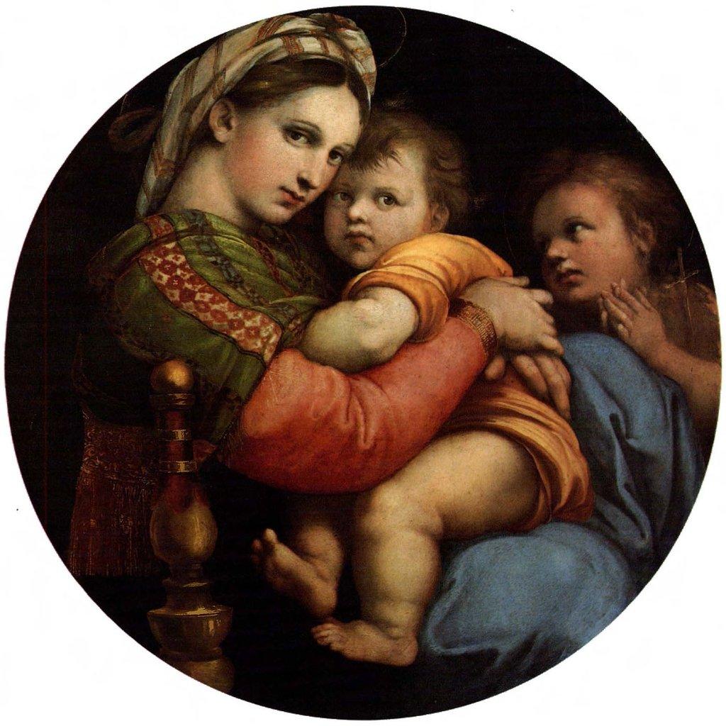 La Vierge à la chaise de Raphaël