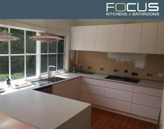 Focus kitchens and bathrooms, contemporary kitchen, contemporary kitchen design, renovation