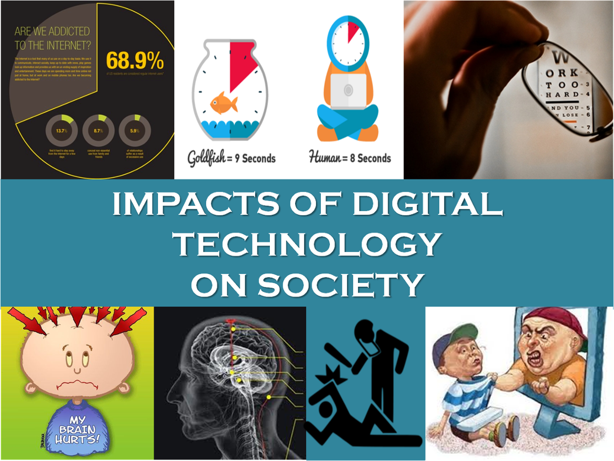 impacts of technology Technology in education is the biggest change in teaching we will ever see for years, policy makers, teachers, parents and students alike have been weighing the potential benefits of technology in education against its risks and consequences but now the debate is more pressing than ever, as .