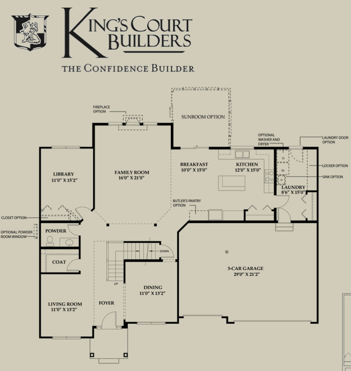 Interactive floorplan tour a beautiful new king 39 s court for Home builder interactive floor plans