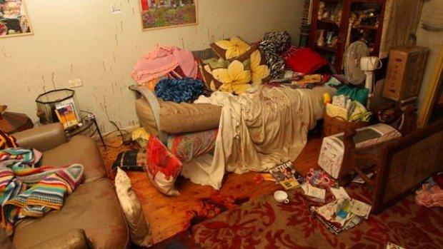 Jacob Richardsons Bedroom after the murder