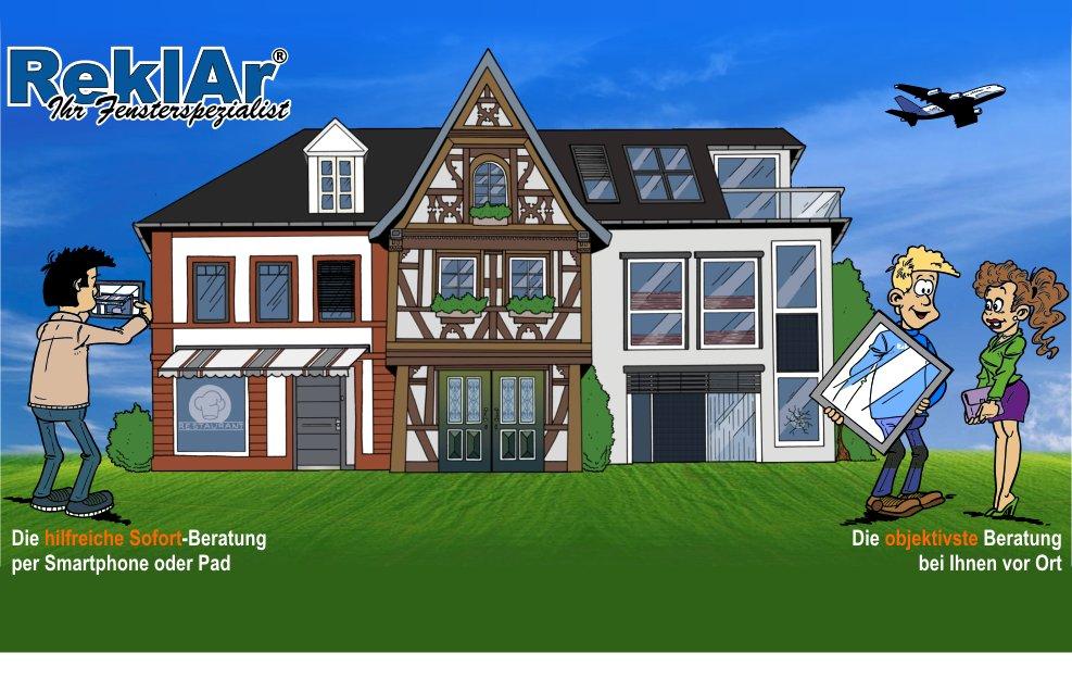 Reklar Ihr Fensterspezialist Fenster Haust Ren