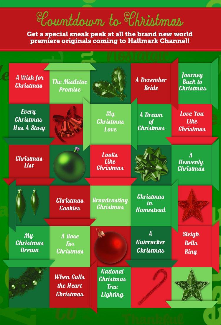 countdown to christmas sneak peek countdown to christmas hallmark channel