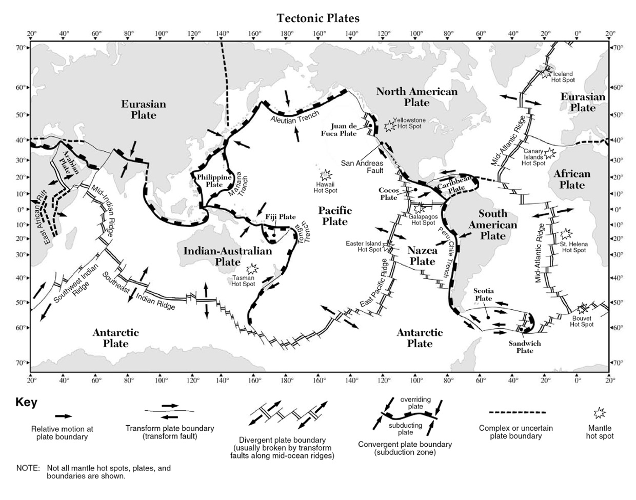 Worksheets Plate Boundaries Worksheet plate tectonics thinglink a year ago 387