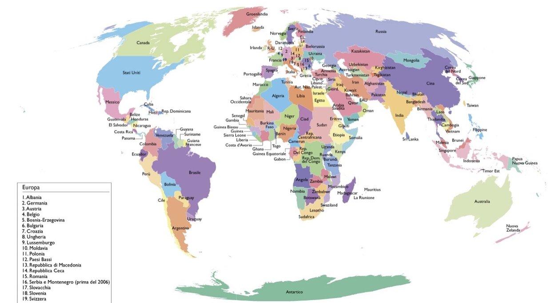 Cartina del mondo thinglink - Mappa del mondo contorno ks2 ...
