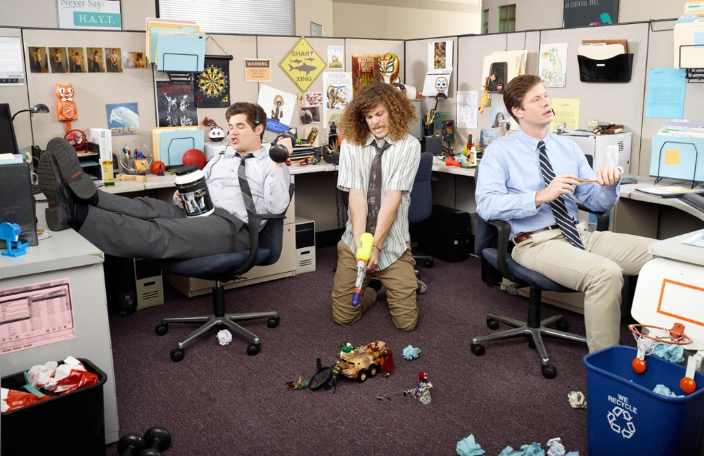 Workaholics subicle