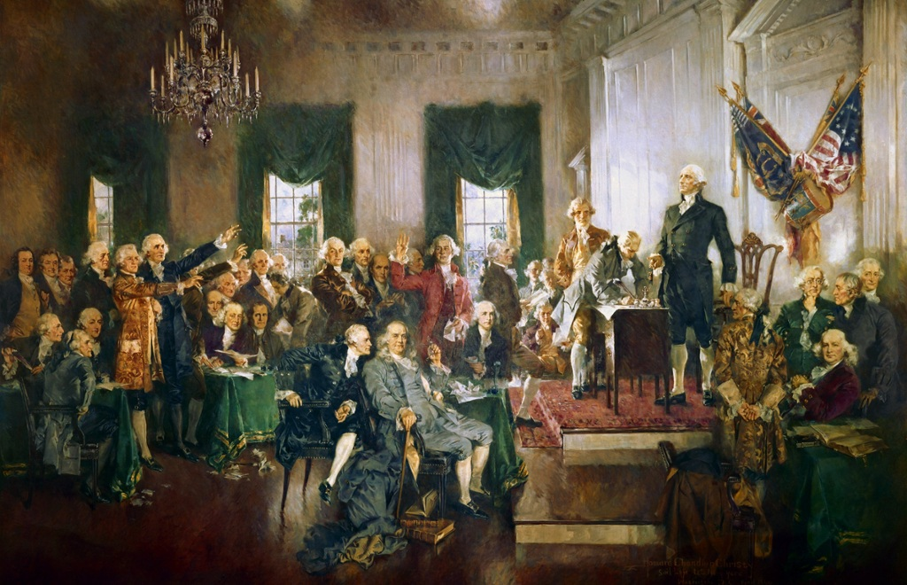 in september 1786  at the annapolis convention  delegates