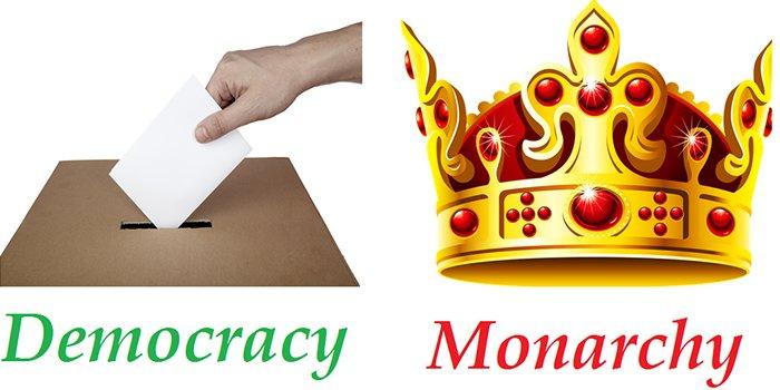 democracy and monarchy essays