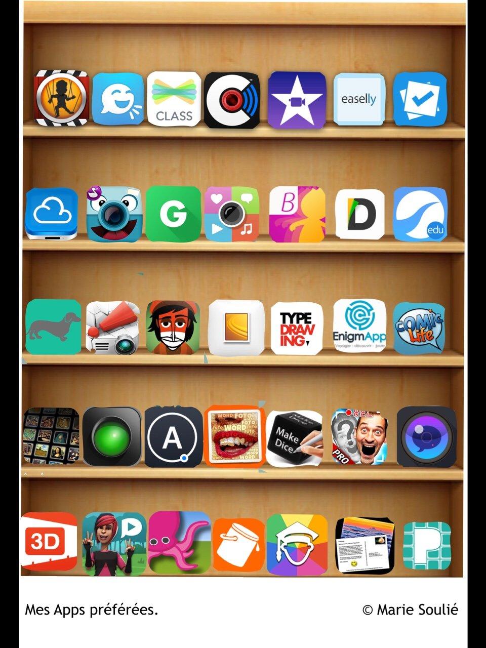 Mes apps préférées by Marie Soulie