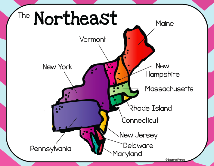 A TOUR OF THE NORTHEAST REGION OF THE UNITED STATES