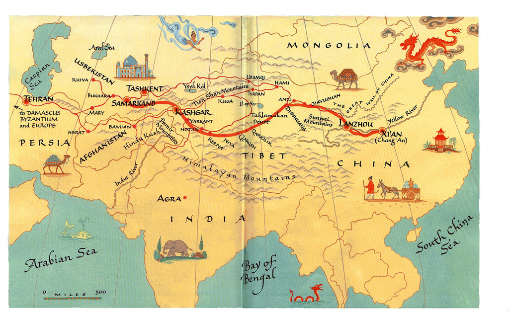 a report on the xian silk road and the expansion of silk trade Imperial rome trade route the silk road taylie this steady expansion eventually had most of the eastern mediterranean in the silk road started in xian.