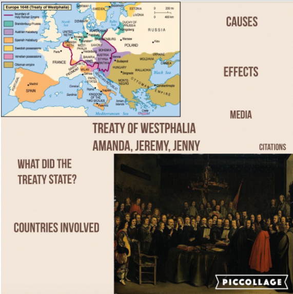pre treaty of westphalia The treaty of westphalia ended the 30 years war which started as a what was a result of the peace of westphalia, ending the thirty years war pre how do.