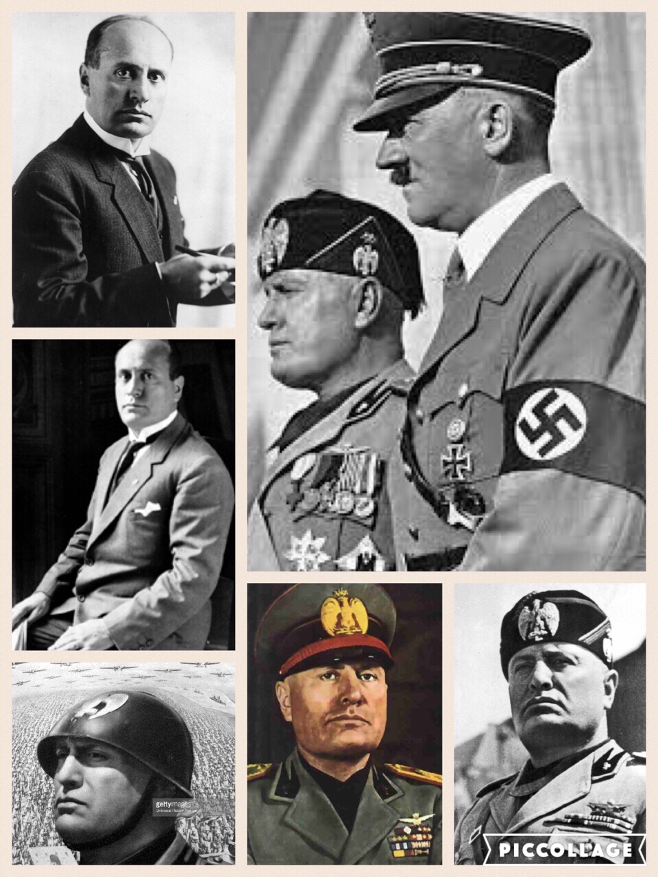 similarities and differences between benito mussolini and What is the difference between hitler and stalin adolf hitler was the nazi leader of germany during world war ii, and joseph stalin was the communist leader of the soviet union during world war ii though both men were harsh dictators, the ideologies they functioned under were different hitler was.