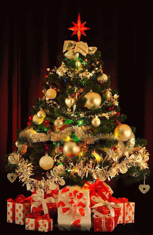 arboles navidad decorados