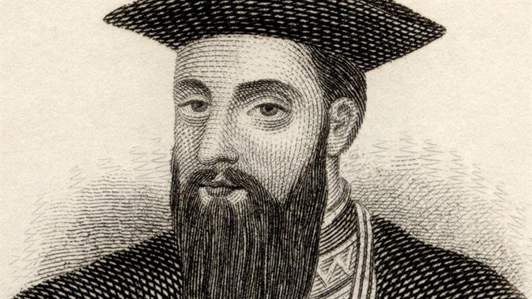 a description of vasco da gama a portuguese explorer Read the biography of the famous portuguese explorer, vasco da gama he went to cape of good hope and established a water route from portugal to he was funded by portuguese kings to find a trade route to india and he conquered many lands during his voyages he was the first one to travel.
