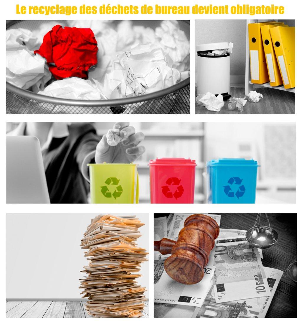 le recyclage des d chets de bureau devient obligatoire pour les pme de 50 salari s bpifrance. Black Bedroom Furniture Sets. Home Design Ideas