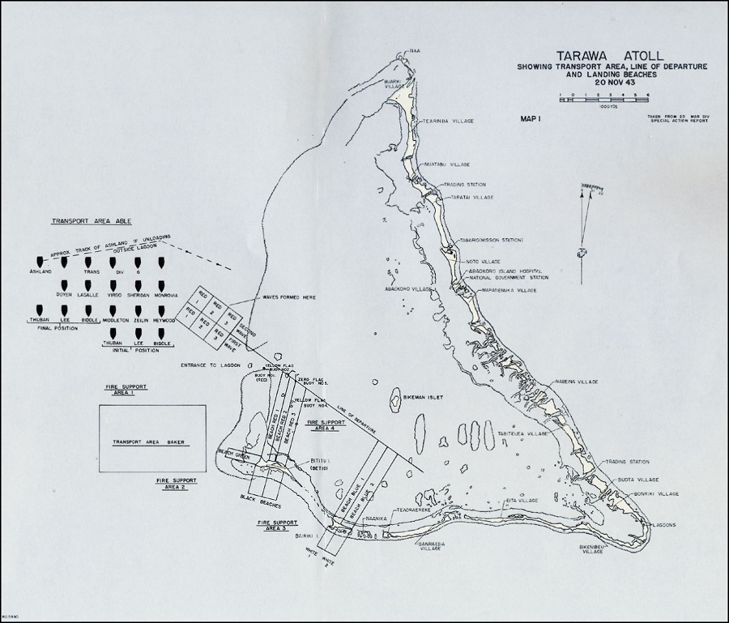 Battle Of Tarawa ThingLink - tarawa atoll map