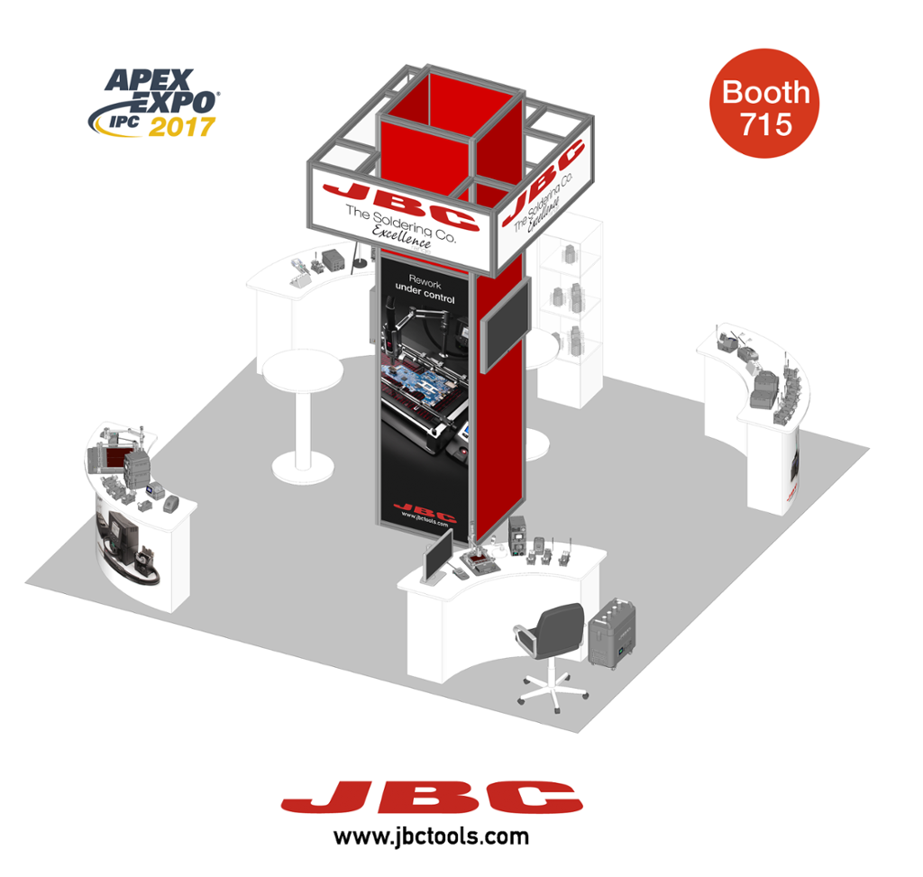 Virtual Tour JBC Booth at IPC APEX EXPO