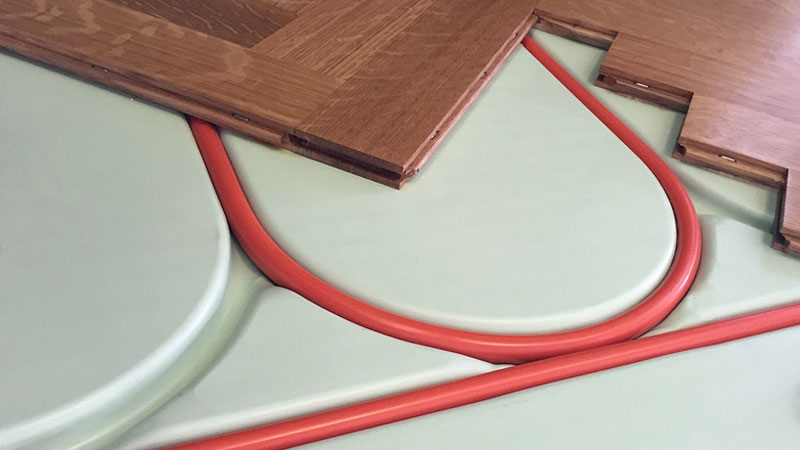 Radiant Heating Gives You Total Design Freedom