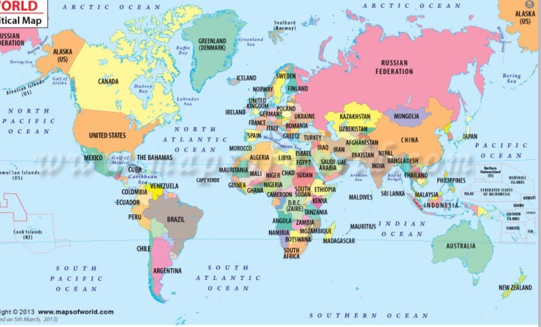 Natural disasters map Senara ThingLink