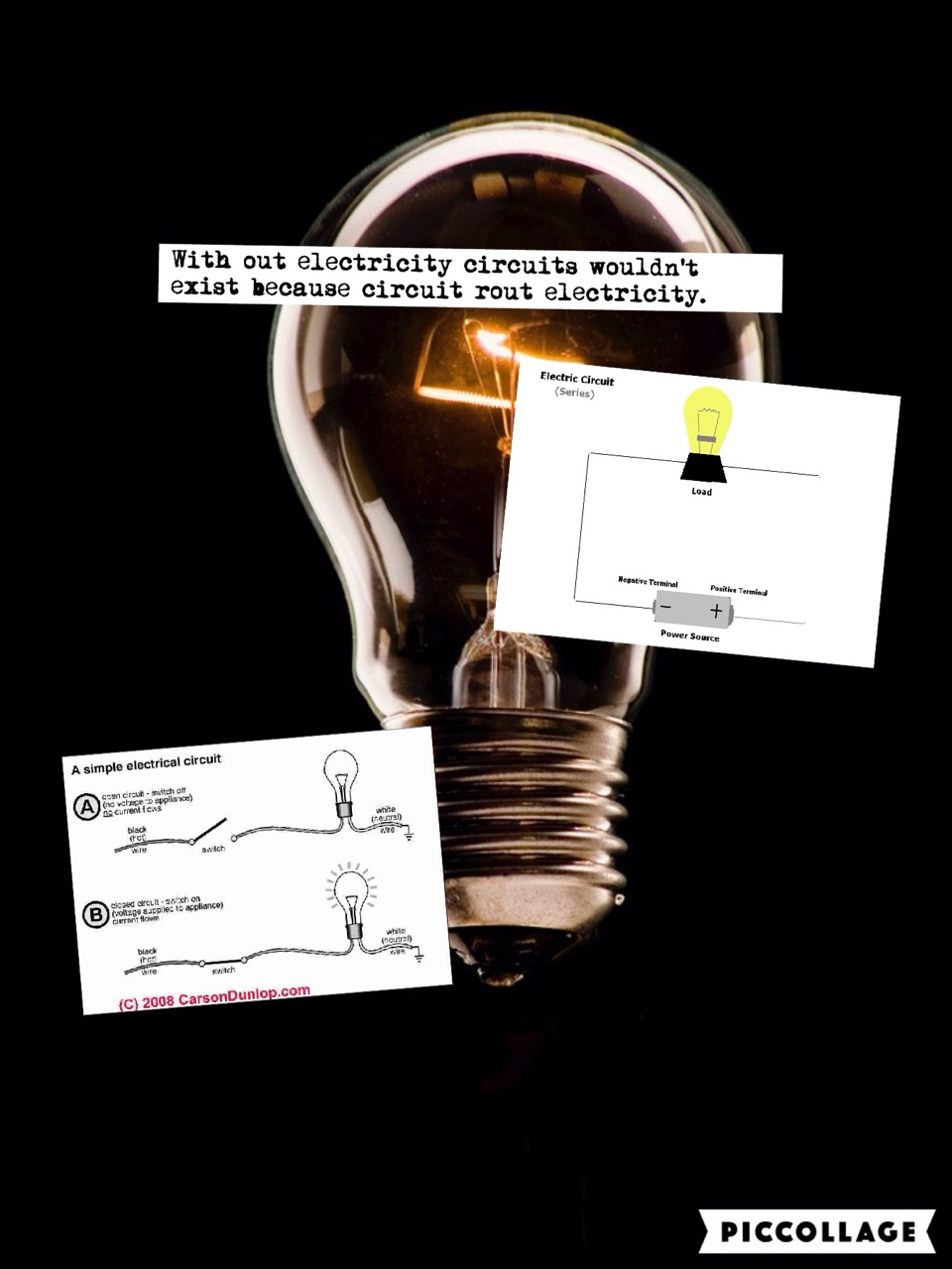 An Interactive Image Simple Electric Circuits Electrical Circuit
