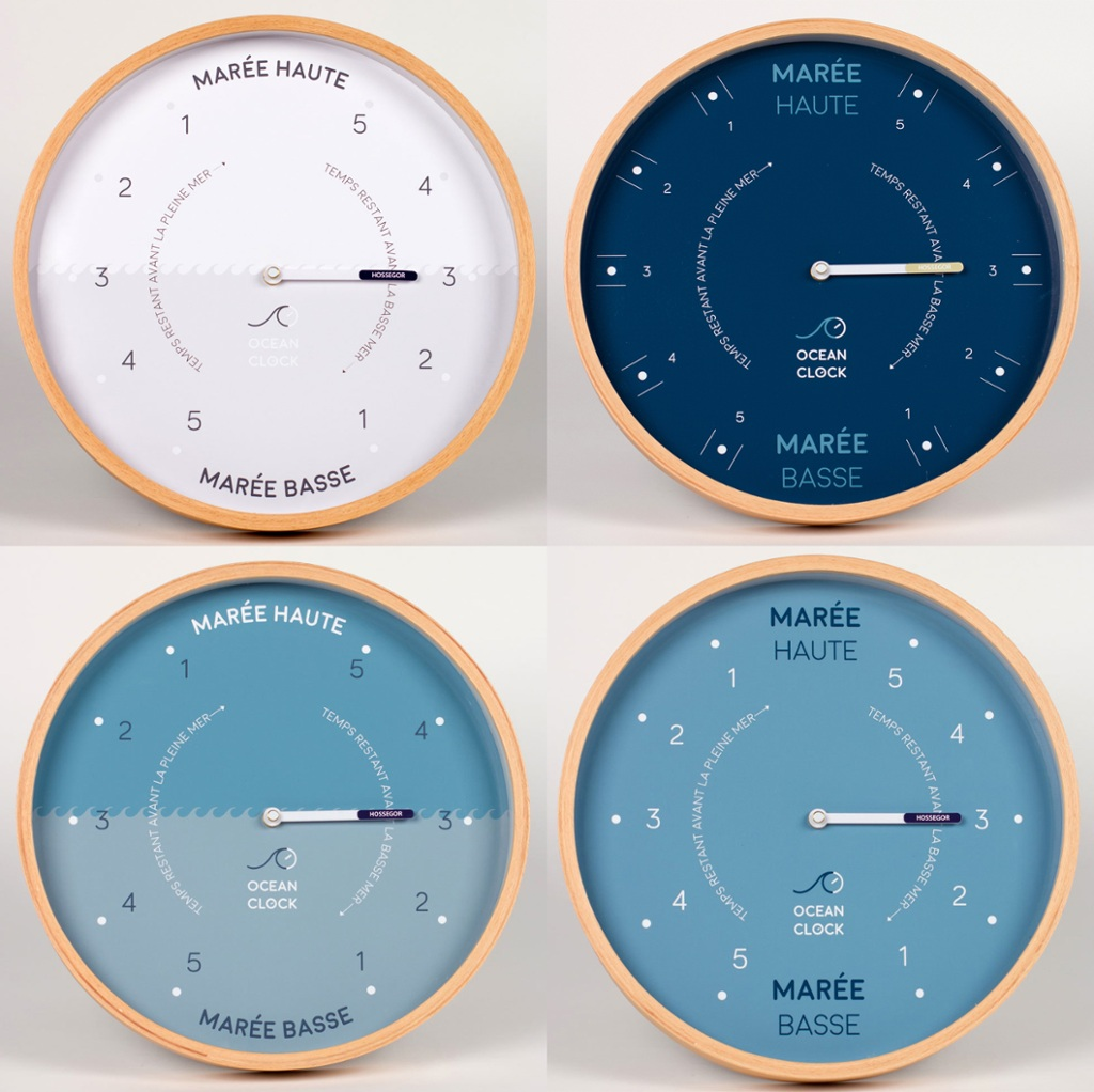 ocean clock l horloge des mar es le blog des couteaux basques. Black Bedroom Furniture Sets. Home Design Ideas