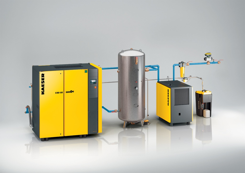 Kaeser Compressors Typical Compressed Air System