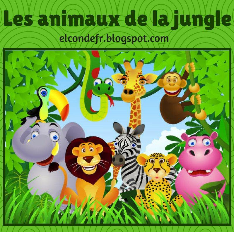 Image Animaux De La Jungle el conde. fr: dans la jungle des animaux!