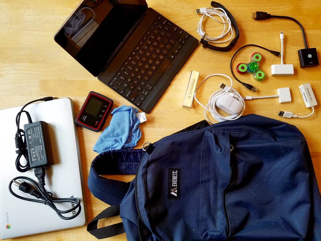 Tech Rationing 2017; What's in the Bag?