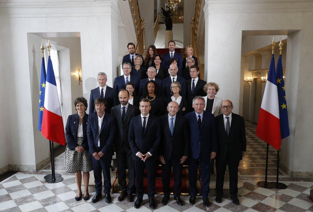 Le plan de table des membres du gouvernement — Conseil des ministres