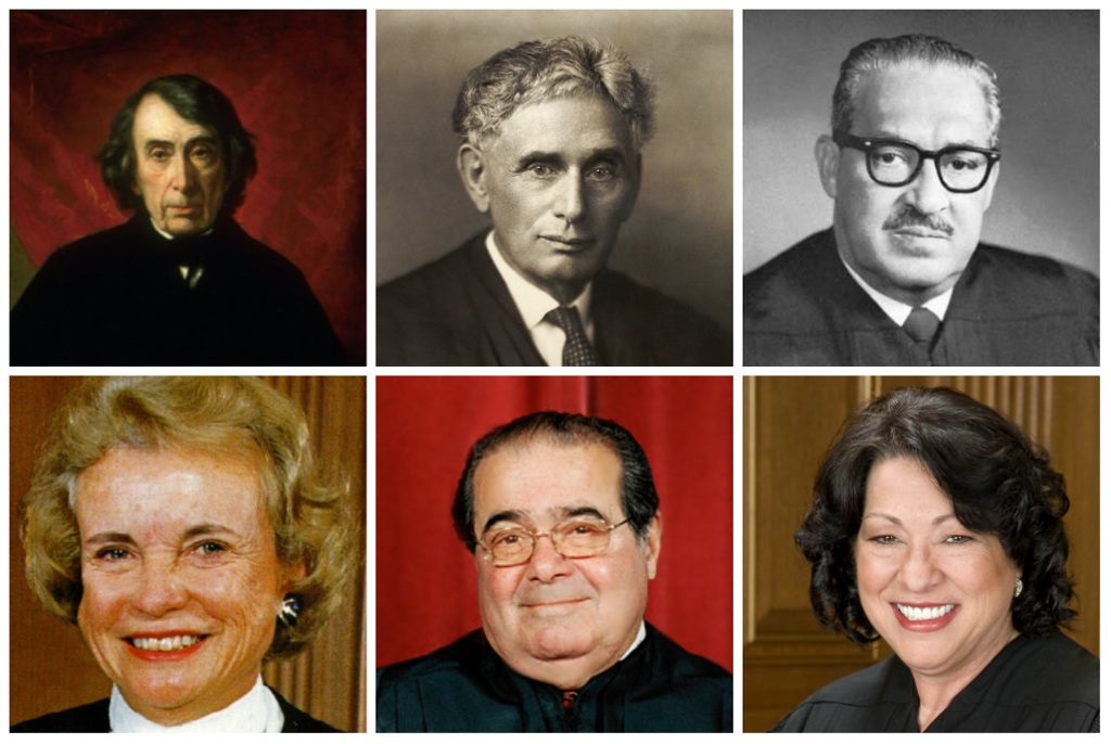 %name The Supreme Court through the ages