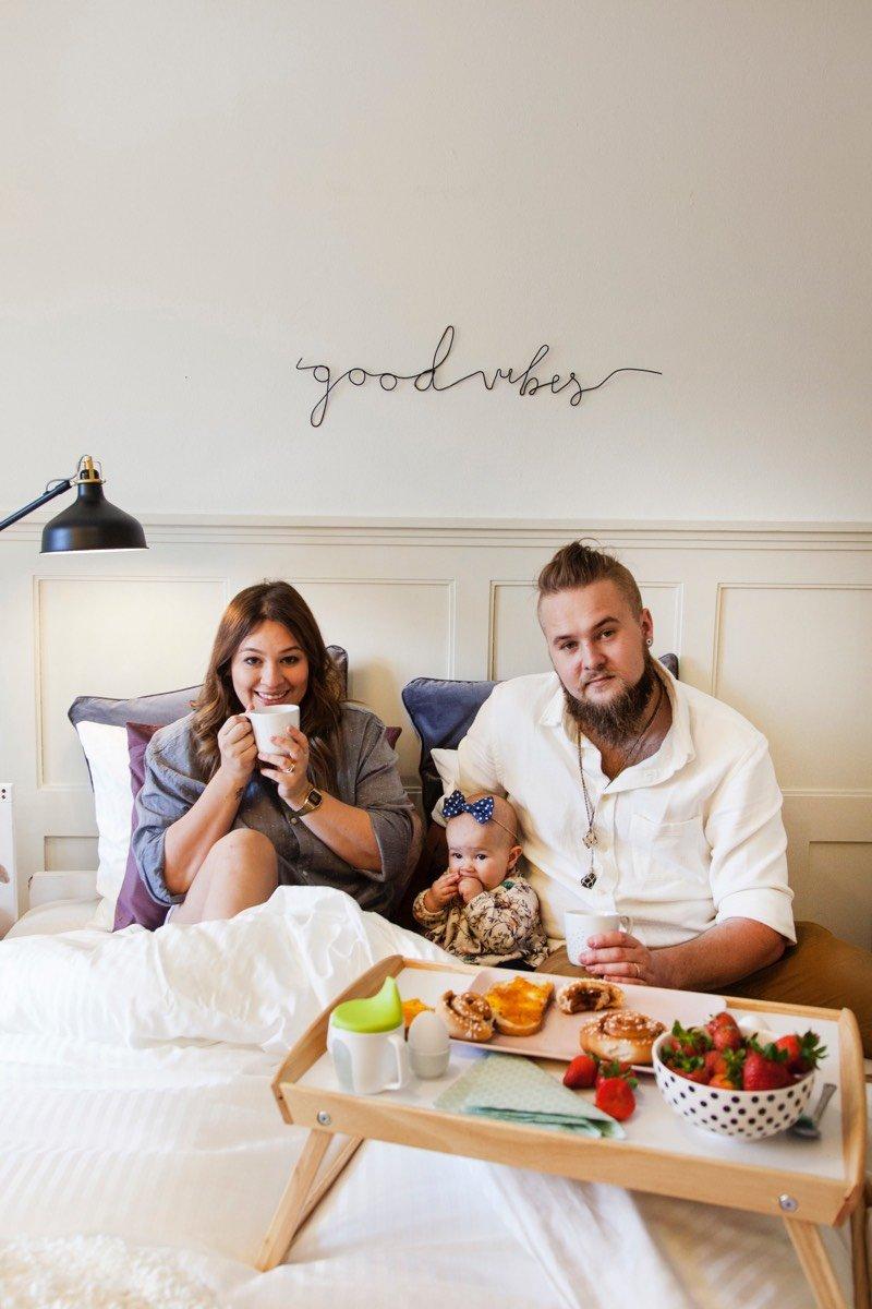 Steffi Martina Hilty und Vinicius Braun mit Tochter Liz