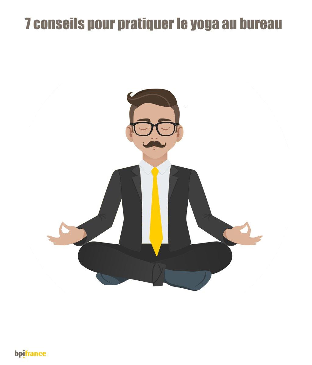sept conseils pour pratiquer le yoga au bureau bpifrance. Black Bedroom Furniture Sets. Home Design Ideas
