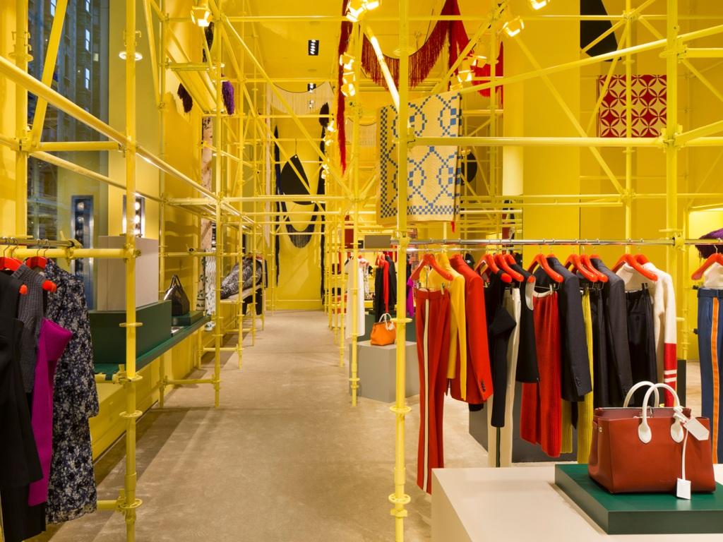 In Pictures: Raf Simons and Sterling Ruby unveil Calvin Klein flagship interim design