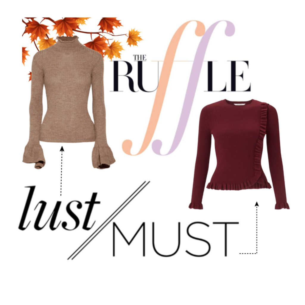 LUST/ MUST: Ruffle Those Feathers 💃