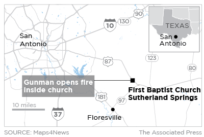 "San Saba 5-year-old survives Texas church massacre"""