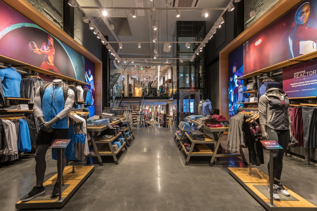 Under Armour opens its first European flagship store in Amsterdam