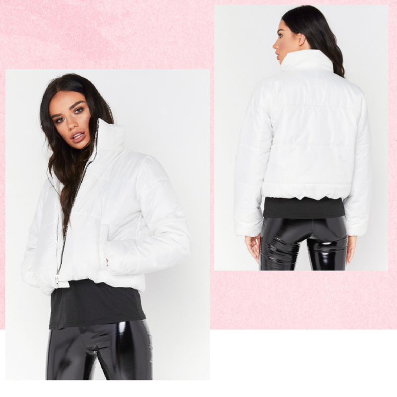 white padded jackets