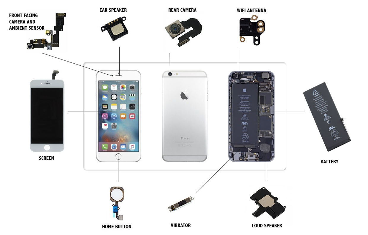 iPhone 6 Parts Replacement Videos