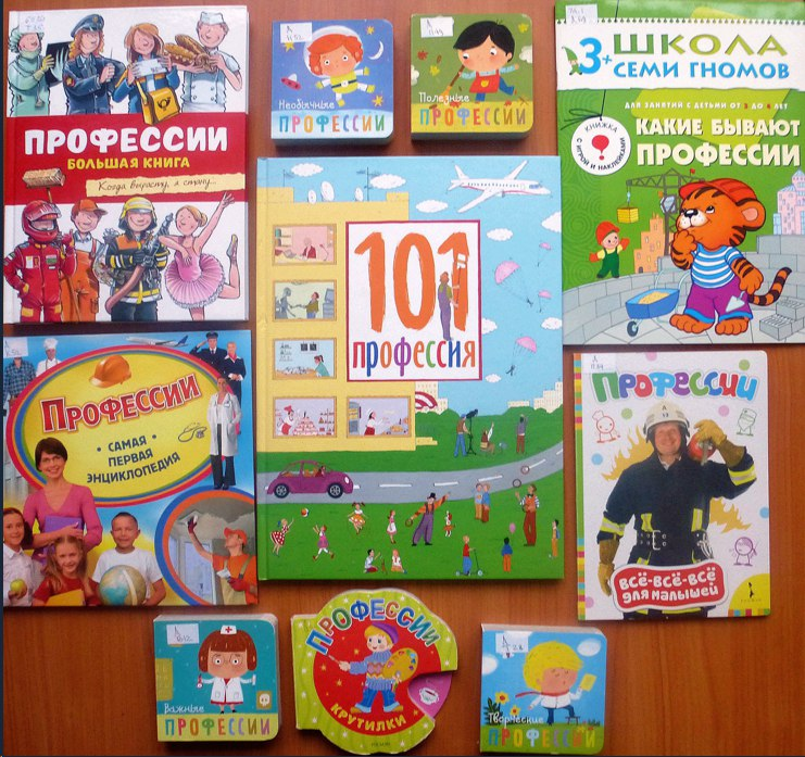 Калейдоскоп профессий для детей
