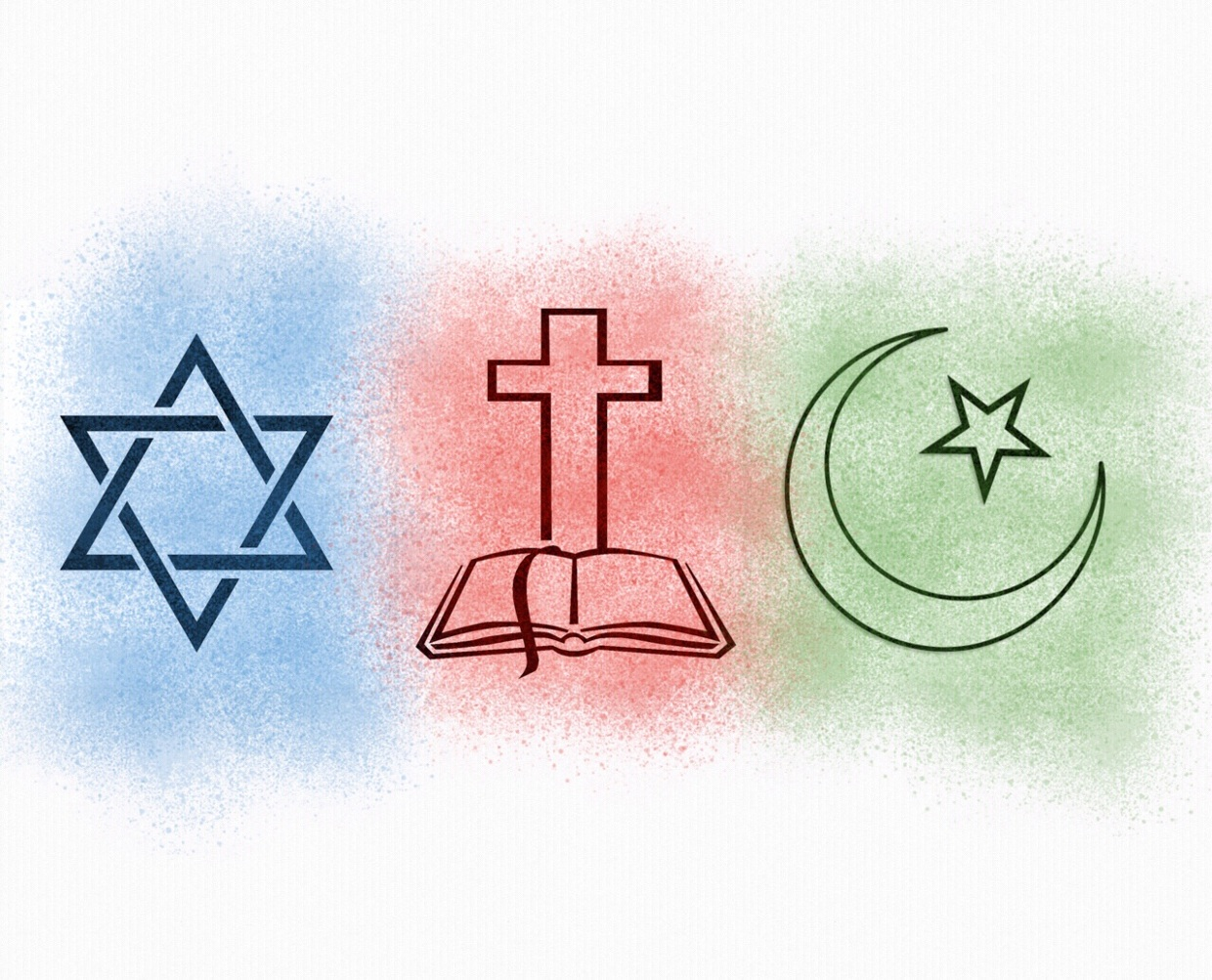 Major Religions Project For Social Studies ThingLink - 3 major religions