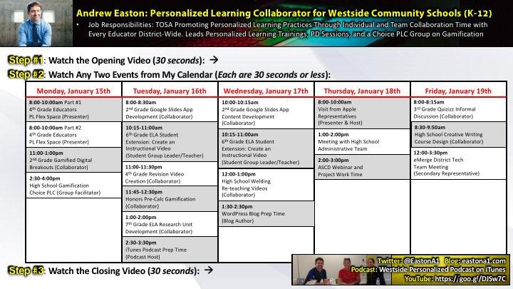 2018 Teaching with Tech - ISTE Trek (Easton)