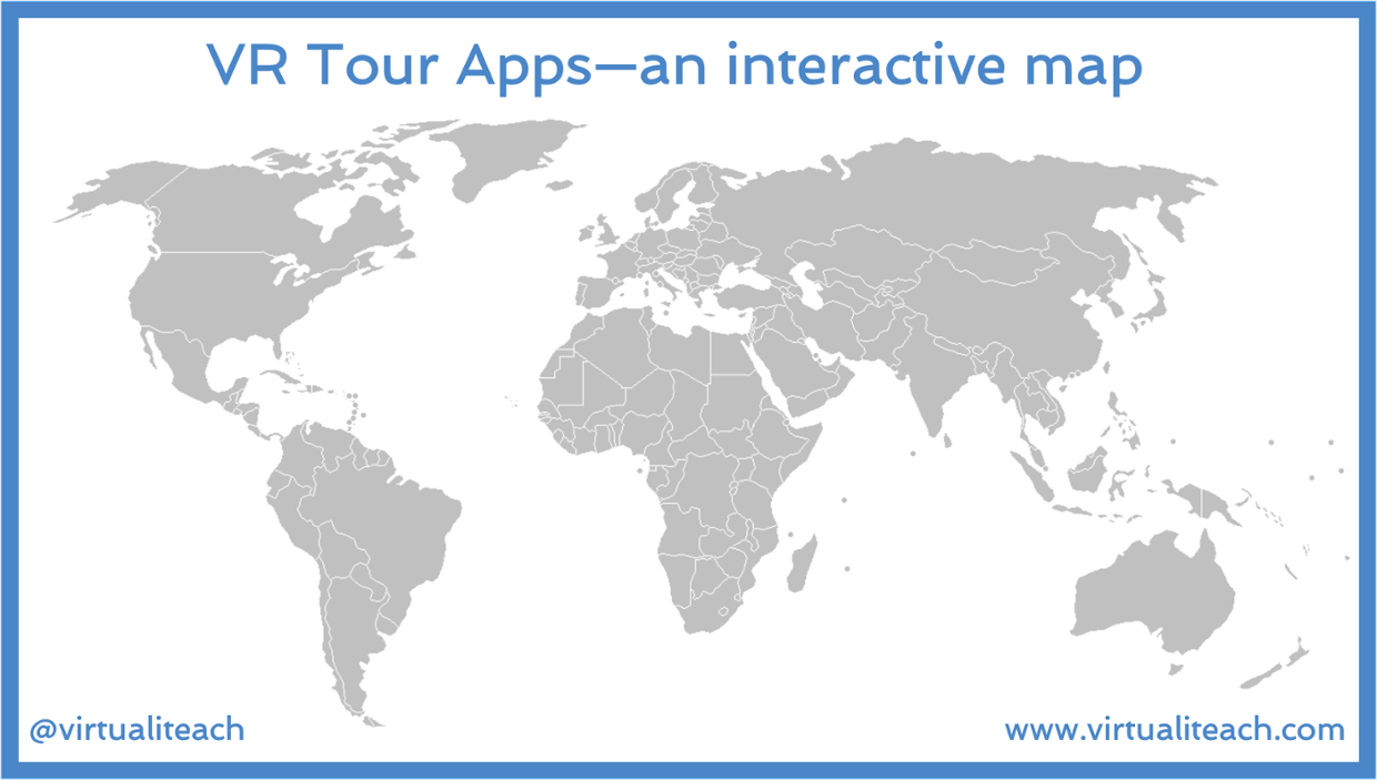 VR Tour Guide Apps - an interactive map