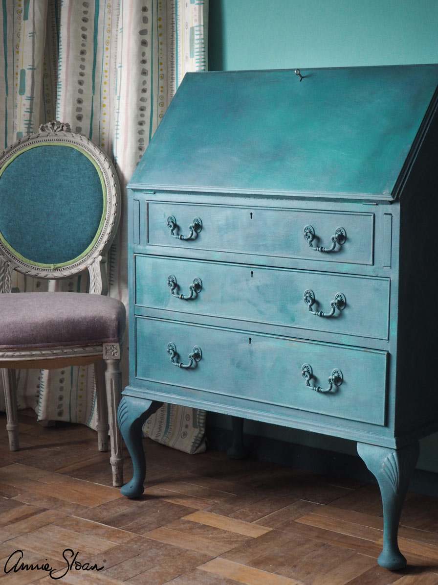 Provence and Aubusson Blue Bureau