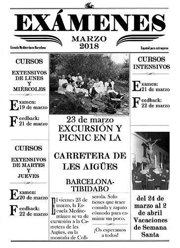 Los cursos de español de la Escuela Mediterraneo Barcelo...
